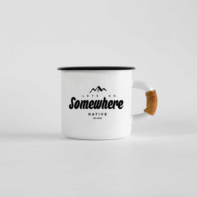 LET'S GO SOMEWHERE MUG