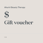 Ahuriri Beauty Therapy Gift Voucher