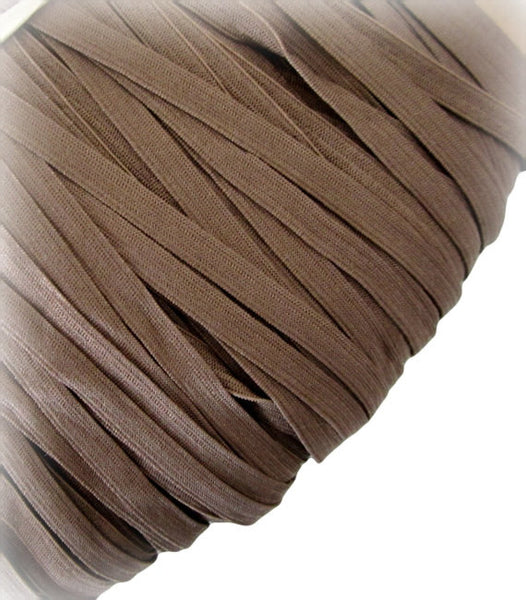 "1/4"" Brown Elastic"