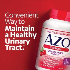 AZO Cranberry Urinary Tract Health Dietary Supplement