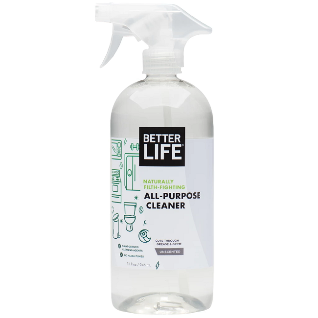 BETTER LIFE ALL-PURPOSE CLEANER CLEANS A TILE COVERED WITH MOTOR OIL - VIDEO