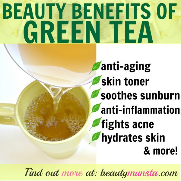 Beauty Benefits of Green Tea TTN Palawan