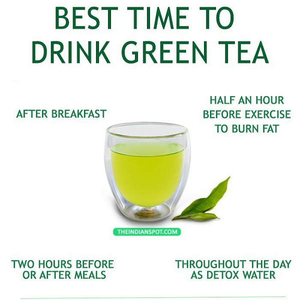 Best time for green tea TTN Palawan