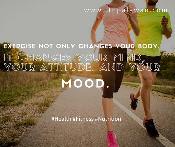 TTN Palawan Inc. -- Exercise not only changes your body