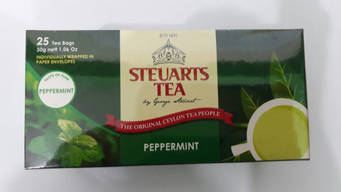 Steuarts Peppermint Tea 25 bags