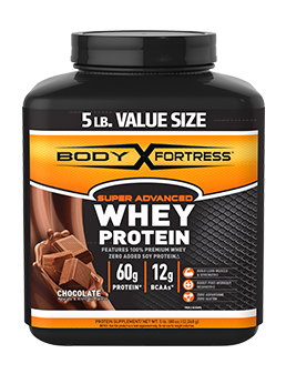 BODY FORTRESS WHEY PROTEIN CHOCOLATE 5LB