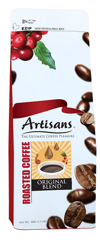 Artisans ORIGINAL BLEND 500 grams (Beans/Ground)