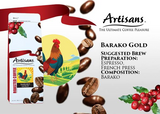 Artisans BARAKO GOLD 500 GRAMS (Beans/Ground)