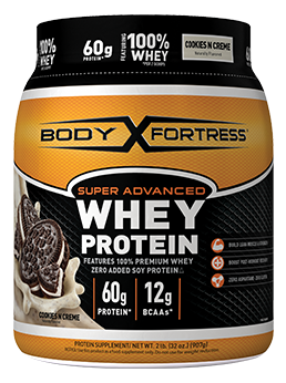 BODY FORTRESS WHEY PROTEIN  COOKIES N' CREME  POWDER