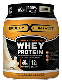 BODY FORTRESS SUPER ADVANCED WHEY PROTEIN VANILLA 2LB