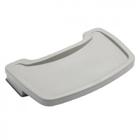 RUBBERMAID - STURDY CHAIR TRAY, PLATINUM