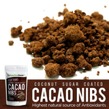 CACAO NIBS COCONUT SUGAR COATED 227g