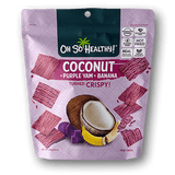 Oh So Healthy! Crisps - COCONUT PURPLE YAM BANANA (24 packs/case)  40g