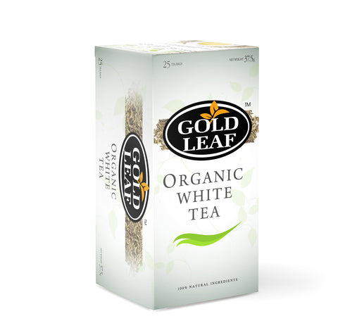 Gold Leaf Organic White Tea Tea 25's