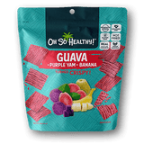 Oh So Healthy! Crisps - GUAVA PURPLE YAM BANANA (24 packs/case) 40g
