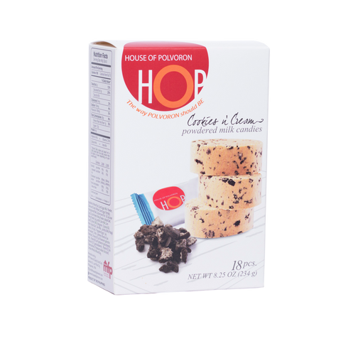HOP Cookies and Cream - 20 x 234g (18pcs per box)