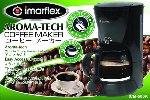Imarflex Coffee Maker ICM-500A