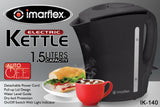 Imarflex Electric Kettle 1.5 Liters IK-140