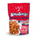 LIZI'S ADVENTURERS GRANOLA CRISPIES STRAWBERRY 400G