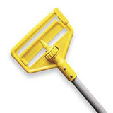RUBBERMAID - YELLOW PLASTIC HEAD 60L SIDEGATE WET MOP HANDLE, L ARGE