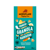 Mornflake Crunchies Hawaiian (Raisins, Banana & Pineapple) 500 grams x 12
