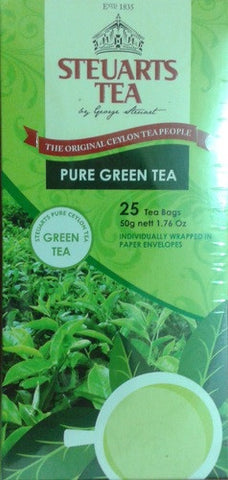 Steuarts Pure Green Tea 25 bags