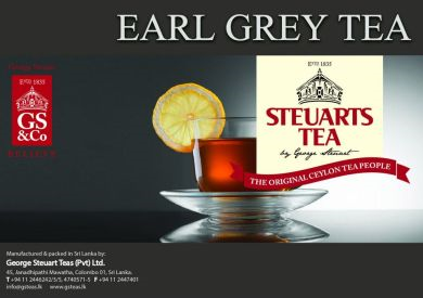 Steuarts Earl Grey Tea 25 bags