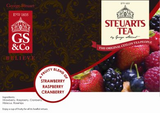 Steuarts Strawberry / Raspberry / Cranberry 25s