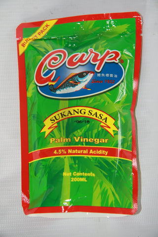 CARP Sukang Sasa 200ml x 48 (Palm Vinegar)