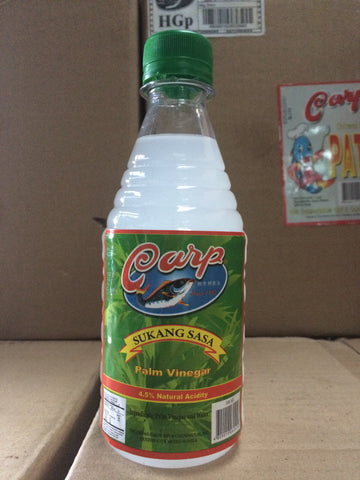 CARP Sukang Sasa 350ml x 24 (Palm Vinegar)