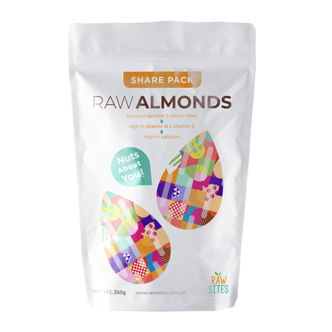 Raw Bites Raw Almonds 250g