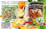 VE-G-CHOPLETS - vegetarian meat - 24 x 400g