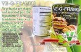 VE-G-FRANKS - vegetarian meat