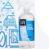 GLASS CLEANER, Scent-Free, 32oz/ 946ml - Eco Friendly Cleaning Products