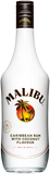 MALIBU - Caribbean rum with coconut flavor (21% alc/vol)