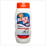 Sunscreen Lotion Block Up! Sport 8oz. (237 ml) SPF50