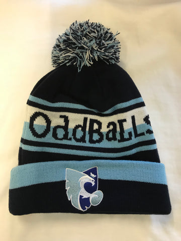 Oddballs Blues' Bobble Hat