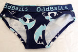 Oddballs Bedford Blues Ladies Briefs