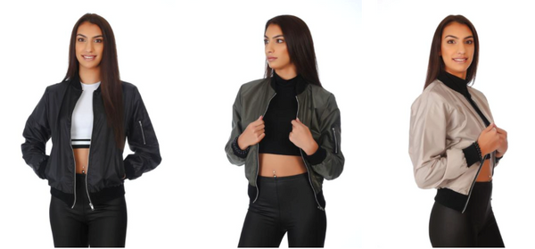 PrettyFashion.com MA1 Bomber Jacket Collection