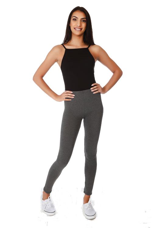 Basic Jersey Full Length Leggings