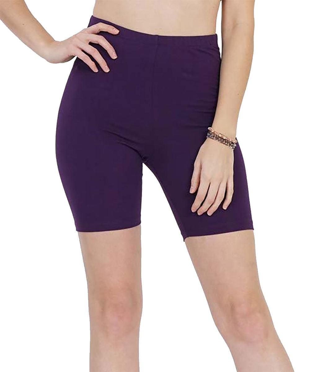Basic Jersey Shorts Leggings