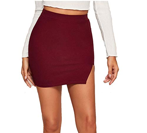 Split Mini Skirt