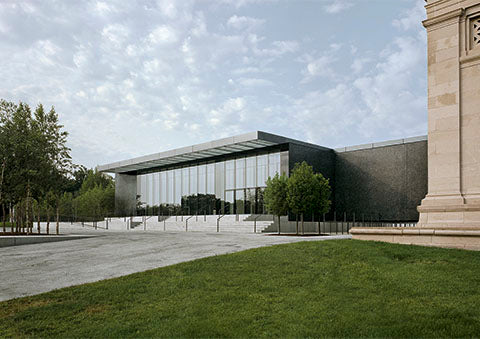 Saint Louis Art Museum, East building Missouri, USA 2005-2013 [Competition First Prize]