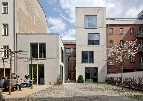 Offices in Joachimstrasse Berlin, Germany 2007-2013