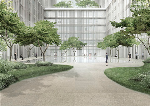 Amorepacific Headquarters Seoul, South Korea 2010- [Competition First Prize]