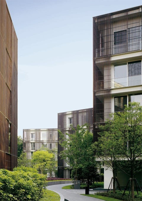 David Chipperfield - Conjunto Residencial Ninetree El Croquis