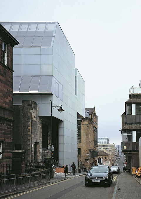 Steven Holl - Glasgow School of Art El Croquis