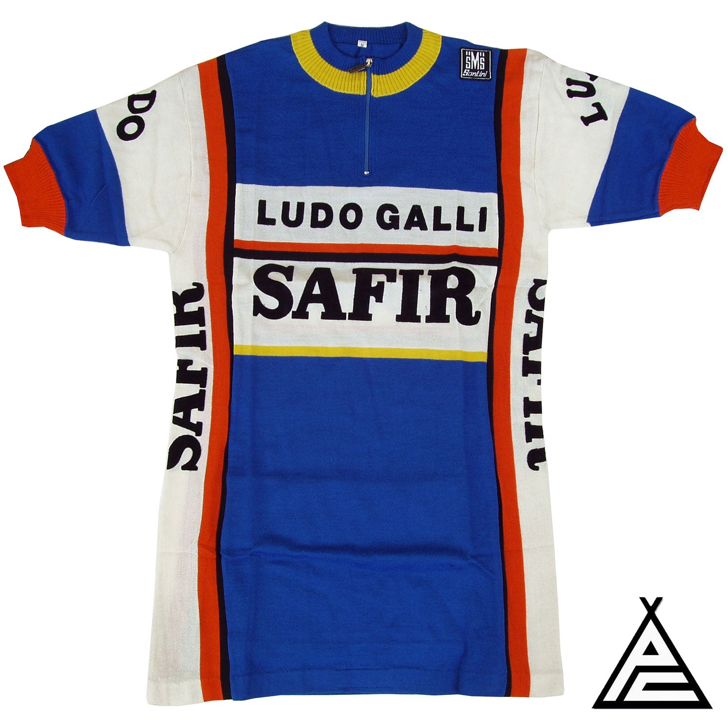 Safir Ludo Galli 1981 Wool Team Jersey