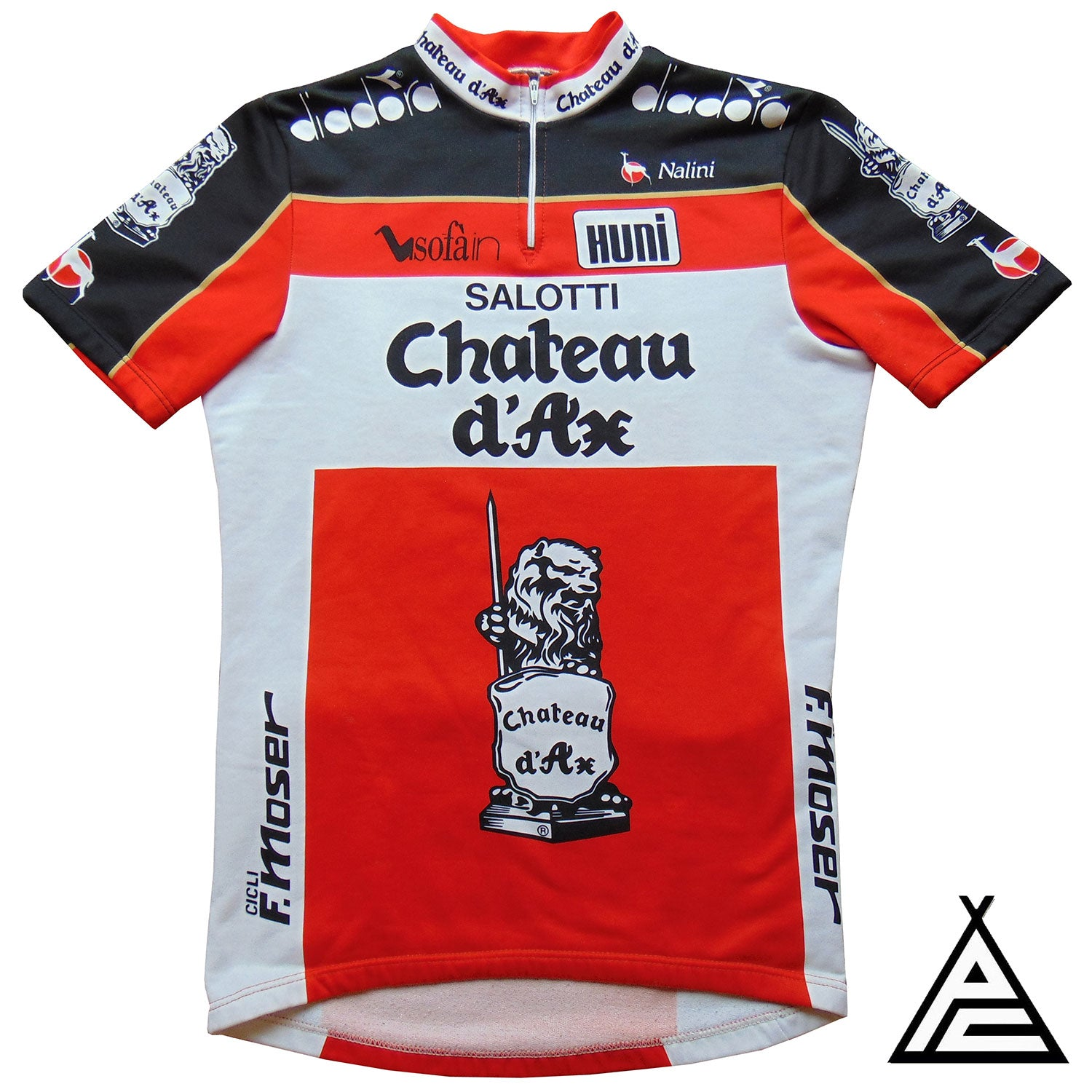 Chateaux D'Ax Salotti 1989 Team Jersey