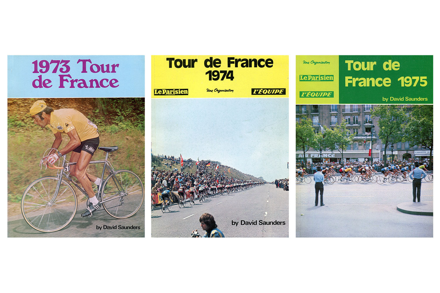 Kennedy Brothers Books: Tour de France 1973, 1974 & 1975